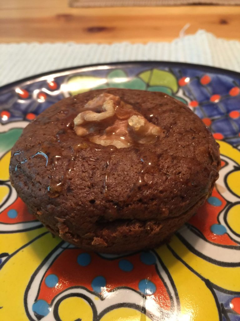 "Vegan Recipes: ""Ginger Spikes"" Muffin Tops"